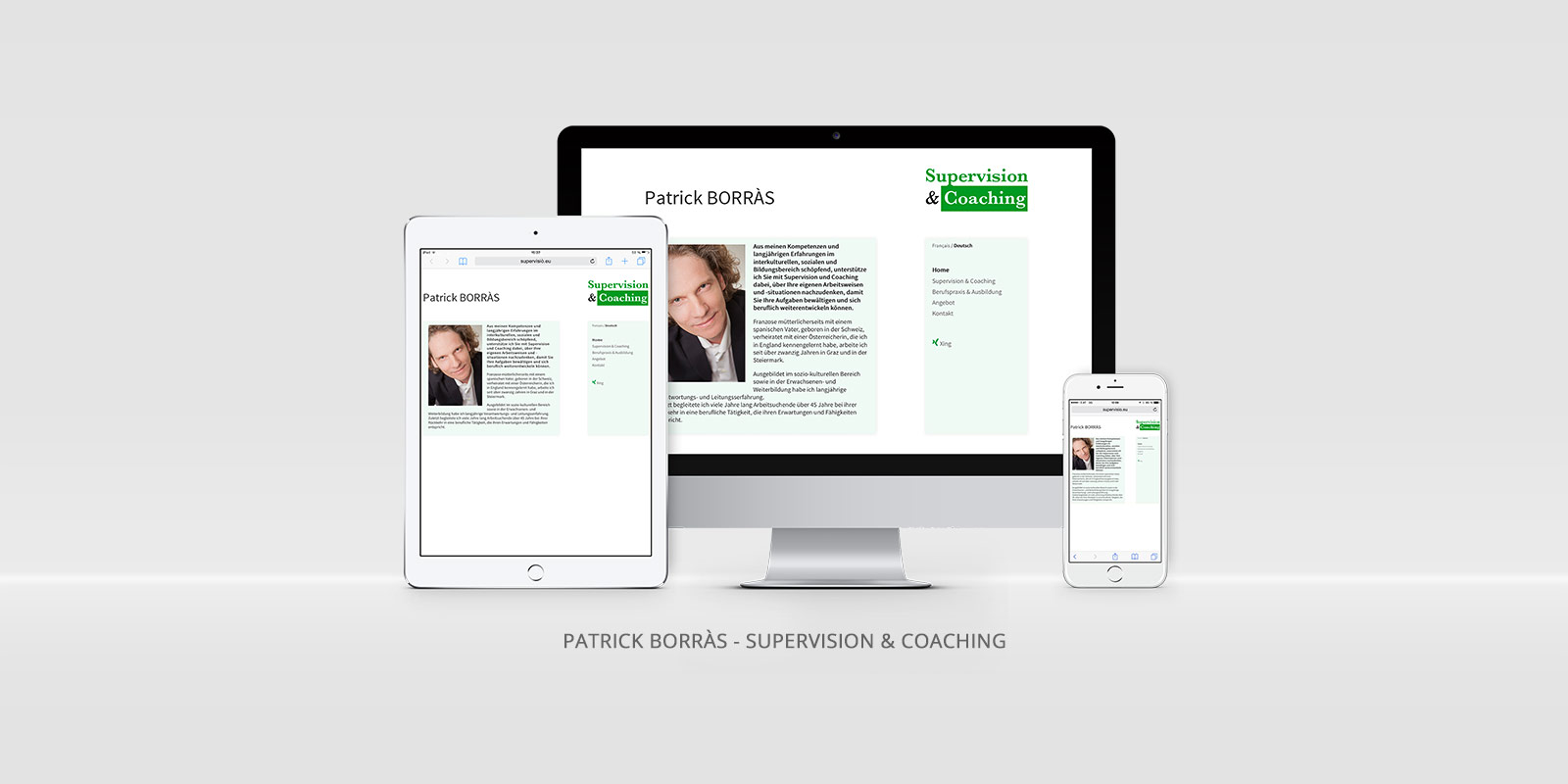 Patrick Borràs - Supervision & Coaching